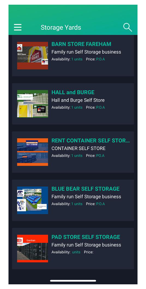 The Self Store App